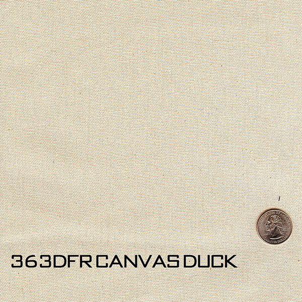 363DFR Canvas Duck