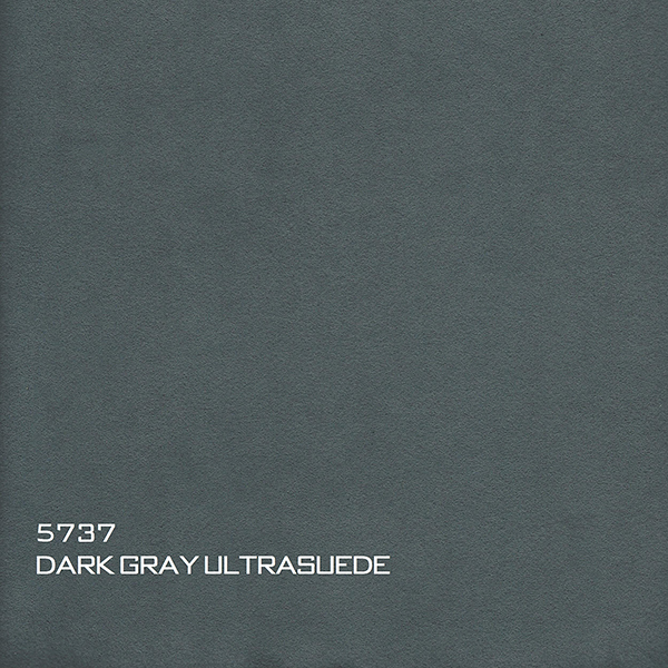 5737 DARK GRAY ULTRASUEDE
