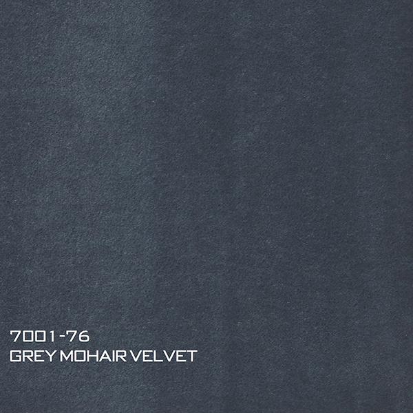 7001-76 GREY MOHAIR VELVET