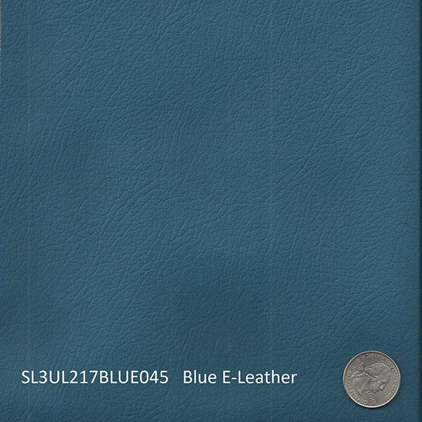 SL3UL217BLUE045 BLUE E-LEATHER Aircraft Fabric